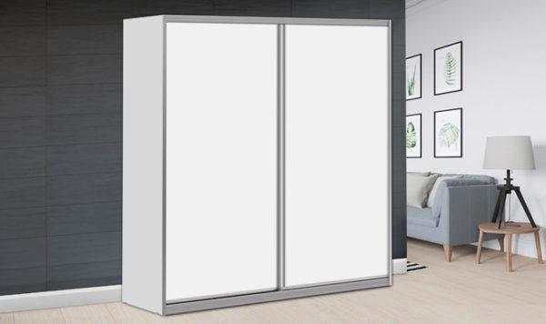 ארון הזזה לייט 2 דלתות