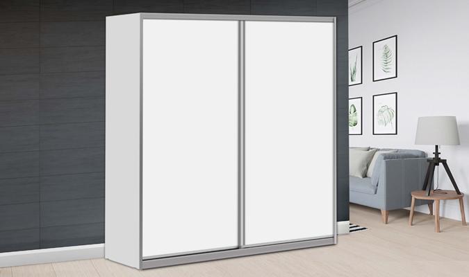 ארון הזזה ארז לייט 2 דלתות