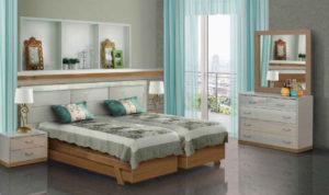חדר שינה מיטה יהודית יובל