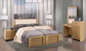 חדר שינה מיטה יהודית שחף