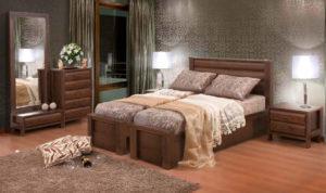 חדר שינה מיטה יהודית קים