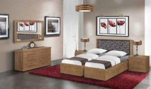 חדר שינה מיטה יהודית סלוניקי