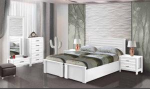 חדר שינה מיטה יהודית פיקסו