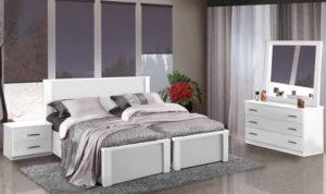 חדר שינה מיטה יהודית קרנית