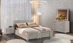 חדר שינה מיטה יהודית כרמית