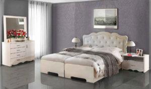 חדר שינה מיטה יהודית שקד