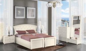 חדר שינה מיטה יהודית אורנית
