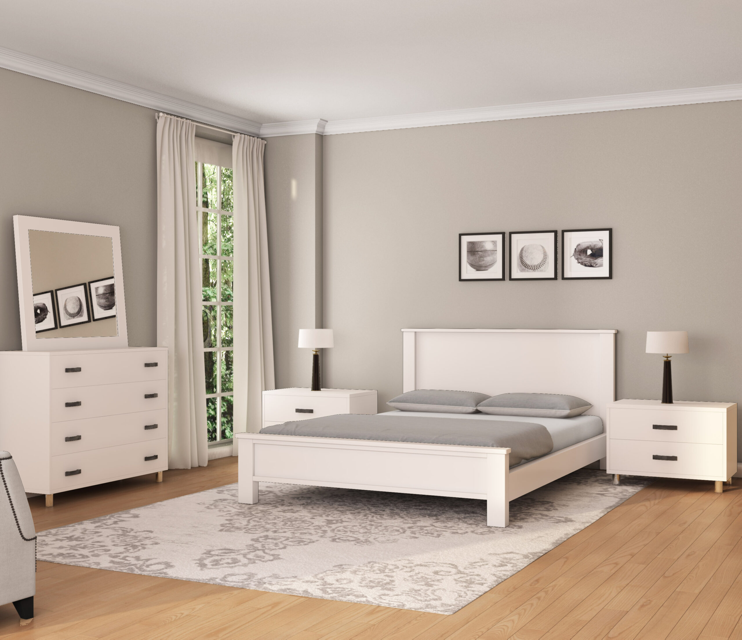 חדר שינה כרמית