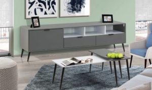 מזנון ושולחן דגם מיאמי