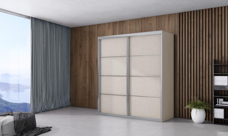 ארון הזזה ארבל 2 דלתות
